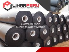 Geomembrana hdpe y PVC  0.5,0.75 1,1.5 Y 2 MM
