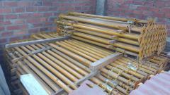 Puntales metalicos pie derecho postes metálicos