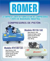 Compresor de Aire Tipo Pistón 15 HP - RSH150-160