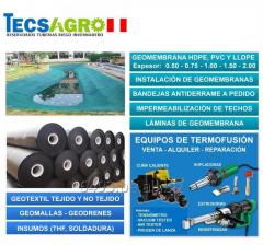 VENTA DE GEOMEMBRANA HDPE Y PVC 0.50 mm - 2.00 mm