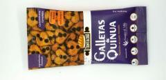 Galleta de Quinua, Ingredientes A1 y 100% harinas integrales