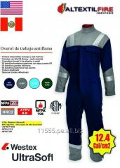 OVEROL ARCFLASH ANTIARCO 12.4 CAL - HRC2 - NFPA