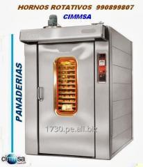 Rotational furnace of a bakery 964125646