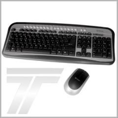 Teclado Kit inalambrico teclado  mouse m-1760rf