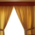 Curtain and drapes