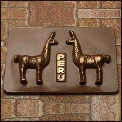 Chocolate Tarjeta Llama