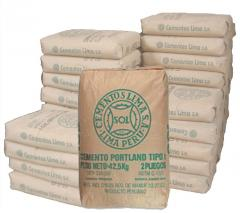 Cemento Portland Tipo I - Cemento SOL