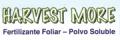 Fertilizantes solubles en agua Harvest more