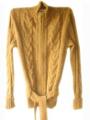 Chompa de Alpaca Baby color Amarillo