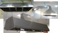 Campanas de ventilación estractoras de acero y galvanizado c/s motor