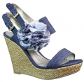 Wedge-heeled shoes