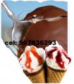 Cobertura de chocolate para helados