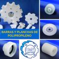 Barras y Planchas de Polietileno y Polipropileno