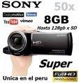 Filmadora Sony Hdcx290 Full Hd Nueva 50x Zoom 8gb Panoramico NUEVO