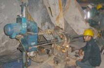 Pedido Servicio de proyección compleja y reconstrucción de minas en operacion Barrenados in situ