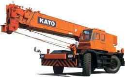 Pedido Servicio de suministro de grúa Hidraulica KATO - 40TN