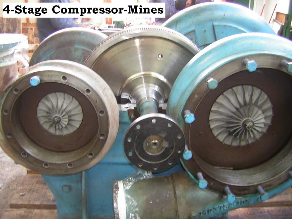 Pedido Mantenimiento de Compresores con aplicación en Minas