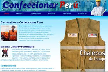 Pedido Confeccionar Perú