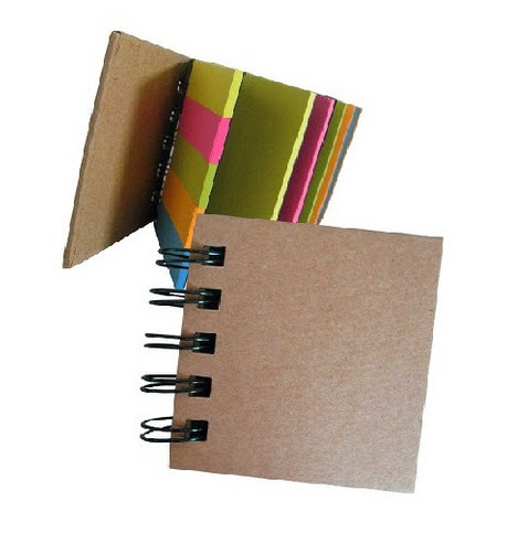 Pedido Libreta con Post It ecológico