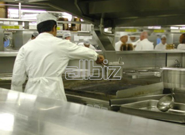 Pedido Servicios de empresas de alimentación pública