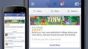 Pedido Aplicaciones Móviles / Facebook