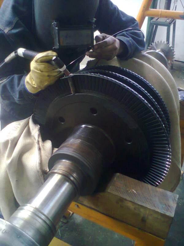 Pedido Recuperación de Turbina a Vapor