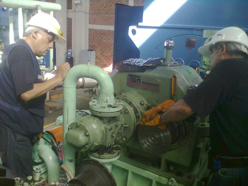 Pedido Análisis Predictivo, verificación y medidas de fallas de motores y turbinas