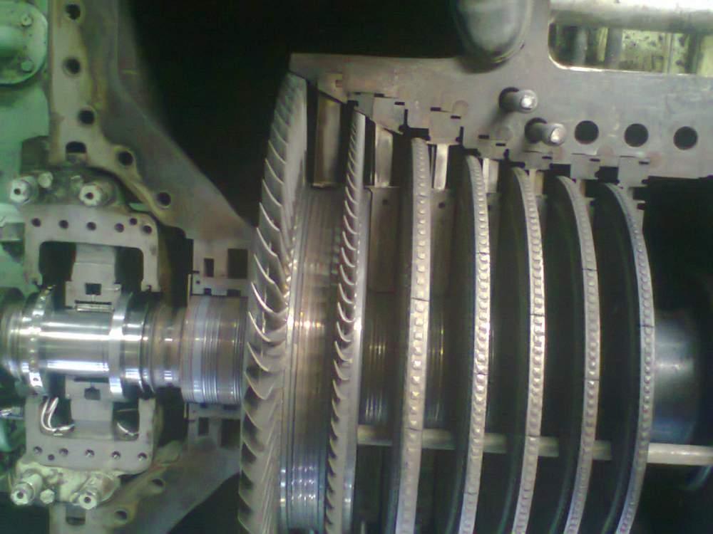 Pedido Reparación de Cojinetes y Sellos de Turbina