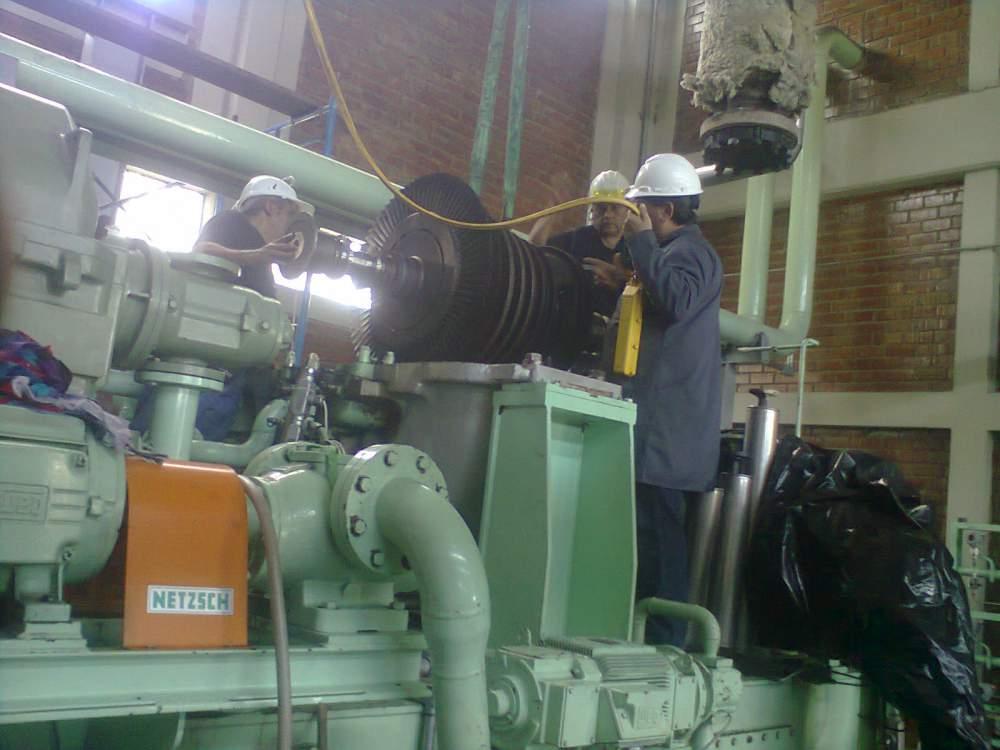 Pedido Procesos de Montaje de Turbinas