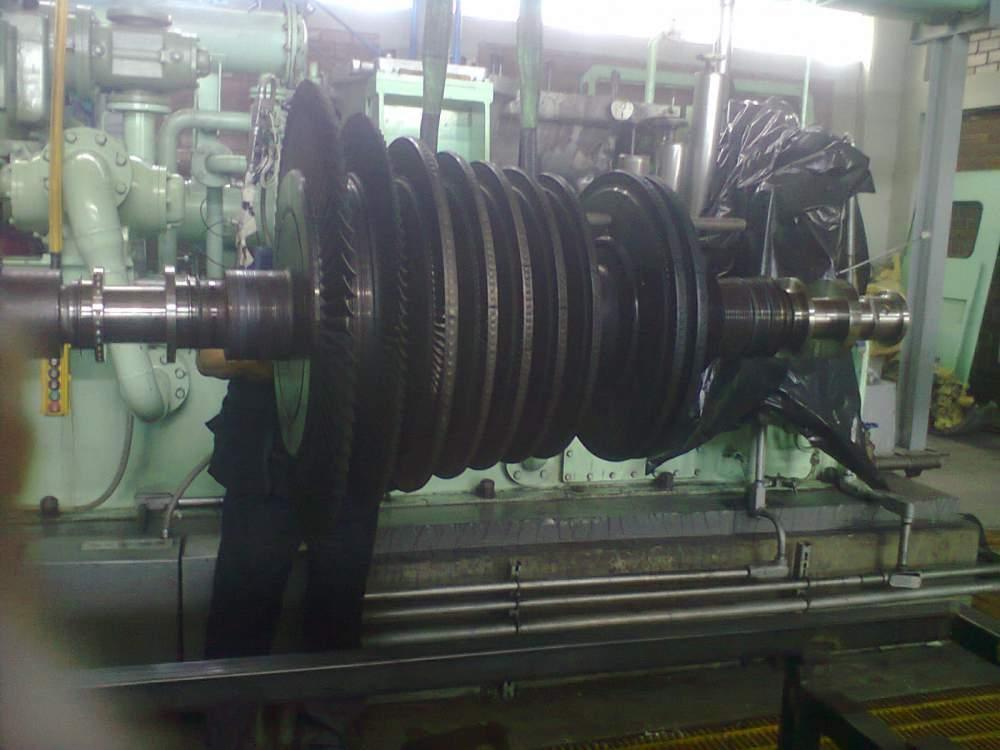 Pedido Levantamiento de Turbina, para su Montaje