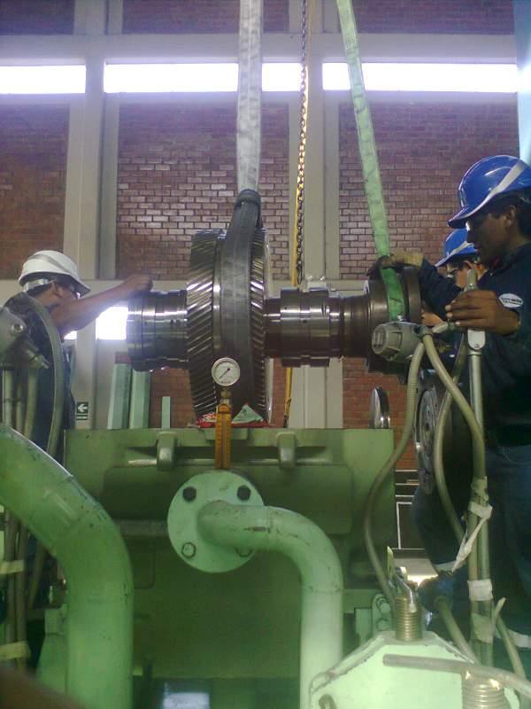 Pedido Montaje de la carcaza de estator de Turbina