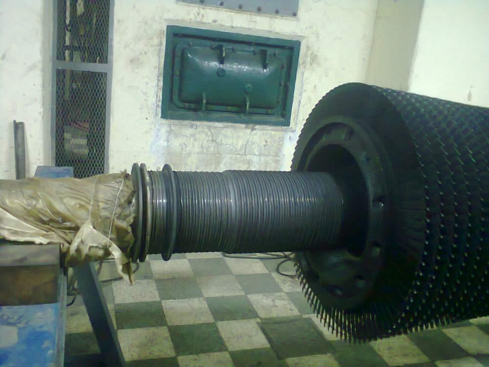 Pedido Reconstrucción de Eje y Etapas del Turbo Generador