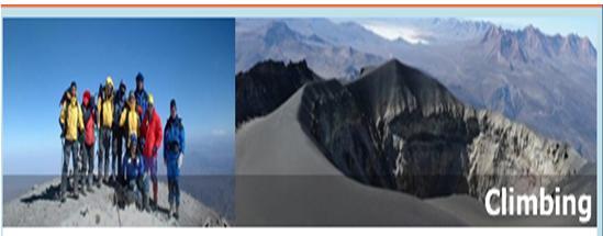Pedido Alpinismo.