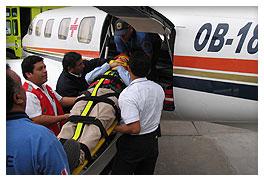 Pedido Servicio de Evacuación