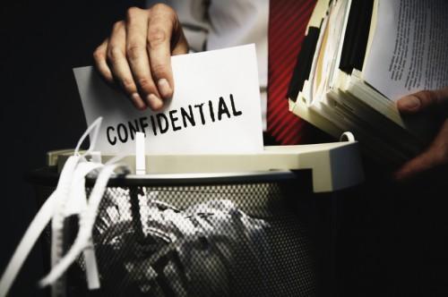 Pedido Servicio de archivo de destruccion de documentos