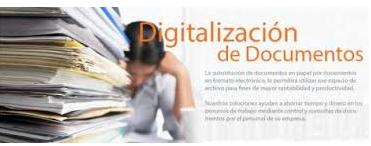 Pedido Servicio de digitalizacion documentos