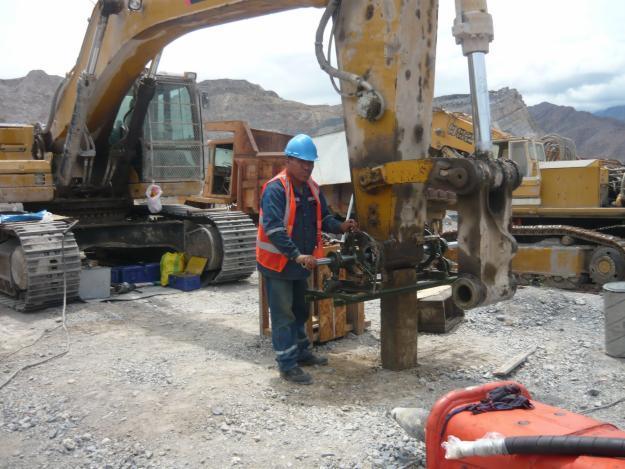 Pedido Servicio de proyección compleja y reconstrucción de minas en operación