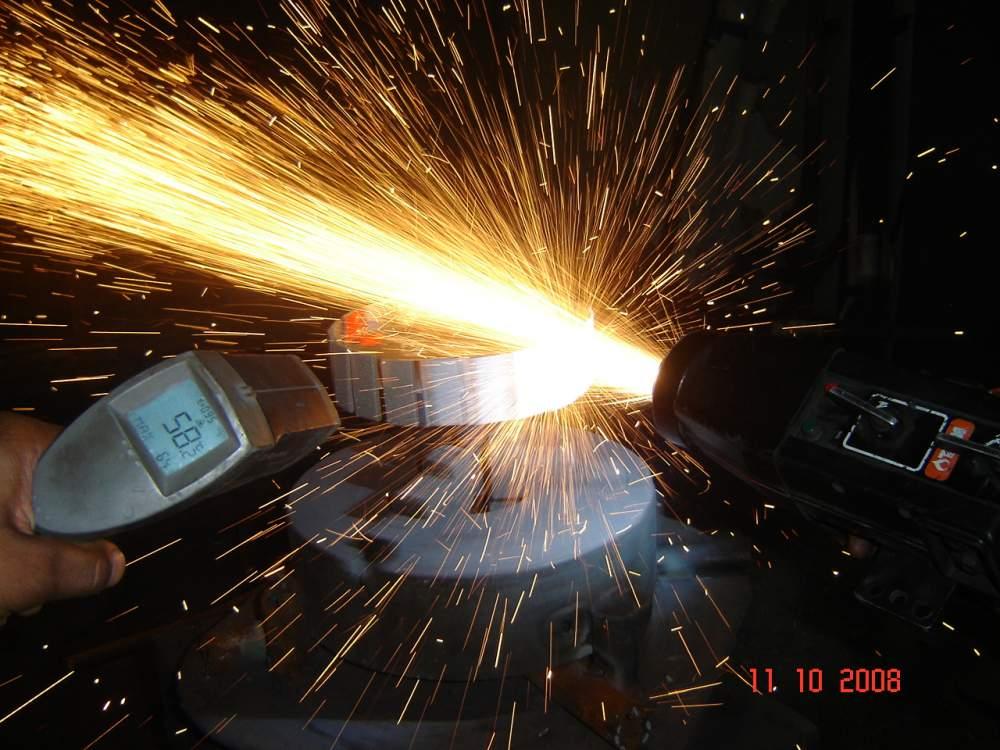 Pedido Metalizado Industrial