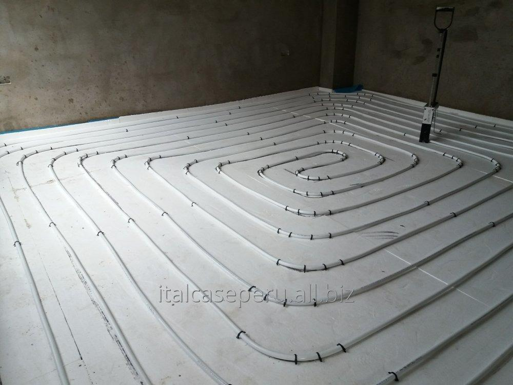 Pedido Instalaciones de pisos radiantes.