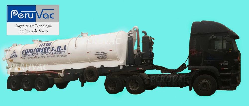 Pedido Fabricación de cisternas de succión