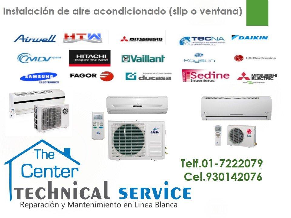 Pedido Servicio tecnico d aire acondicionado LENNOX..Instalacion 7222079 san Isidro