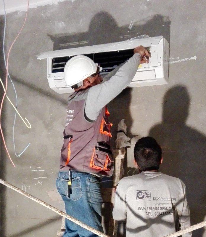 Pedido Instalacion de aire acondicionado