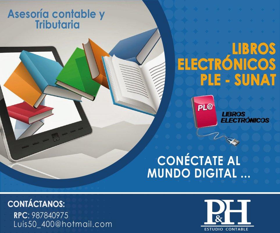 Pedido Libros Electronicos PLE SUNAT