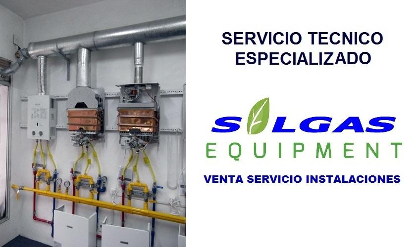Pedido Servicio Tecnico Termas A Gas