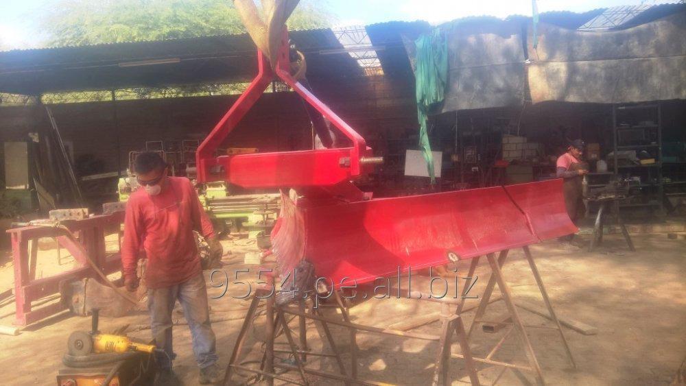 Pedido Reparación y fabricación de Maquinarias agricola