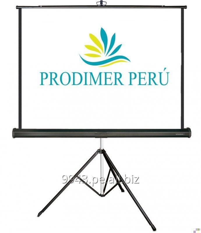 Pedido Venta de pantallas de proyeccion ecran & racks x mayor y menor