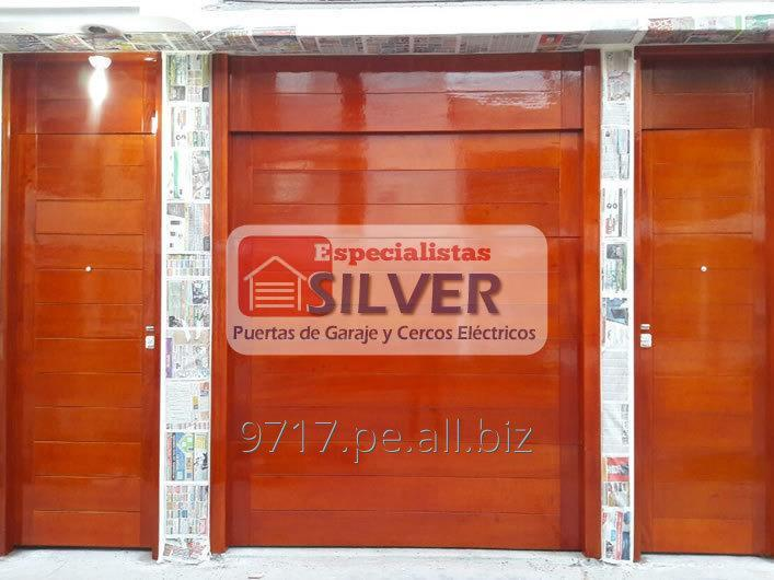 Pedido PUERTAS LEVADIZAS SECCIONALES especialistas silver 944437627