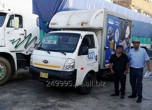 Pedido Servicio de Distribución camiones de 3.5 TN (LIMA, CALLAO, SUPERMERCADOS, RANSA)