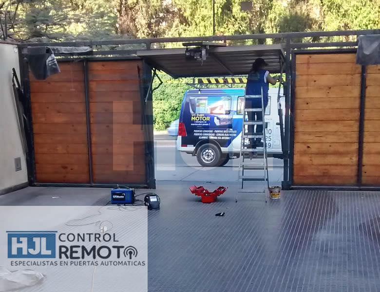 Pedido Mantenimiento y reparación de puertas de garaje HJL puertas levadizas