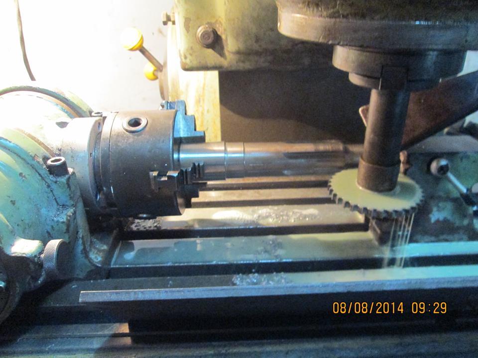 Pedido Fabricación de piezas Industriales